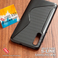 Soft Jelly Case Samsung A70 Softcase Silicon Silikon Casing Cover Gel