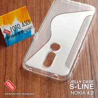 Soft Jelly Case Nokia 4.2 Softcase Silikon Silicon Casing Cover Gel