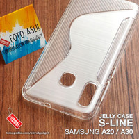 Soft Jelly Case Samsung A20 A30 Softcase Silikon Silicon Casing Cover