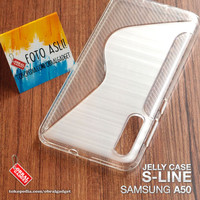 Soft Jelly Case Samsung A50 Softcase Silikon Silicon Casing Cover Gel