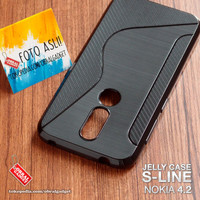 Soft Jelly Case Nokia 4.2 Softcase Silicon Silikon Casing Cover Gel