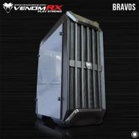 VenomRX Bravos - Tempered Glass side panel