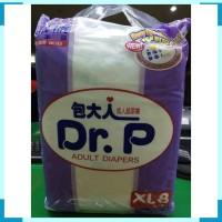 PAMPER DR P For Adult Diapers Ukuran XL Isi 8 pcs