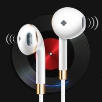 3.5mm Mic Super Bass Music In-ear Stereo Headphone Headset Earphone Ea