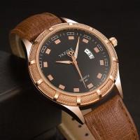 Terbaru YAZOLE 400 Luminous Hand Quartz Watches Date Display