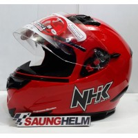 HELM NHK RX9 SOLID RED