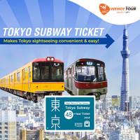 Tokyo Subway Ticket 48 JAM - Dewasa