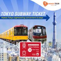 Tokyo Subway Ticket 24 JAM - Dewasa