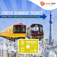 Tokyo Subway Ticket 72 JAM - Dewasa