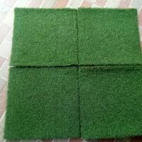Karpet Rumput Mini Golf Sintetis Tebal 15mm 25cm x 25cm