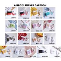 Airpods Sticker/ Sticker Pelindung Airpods - Cartoon