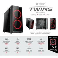 Paket PC Infinity Twins Core i5 8400