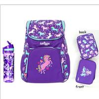 Smiggle PURPLE SET - Backpack Bottle Lunchbag