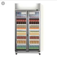 GEA EXPO-800AH/CN Showcase 2 Pintu 5 Shelf