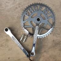 Crank Piringan Gigi depan Sepeda Onthel PHOENIX gigi 48 Teeth