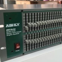 EQUALIZER ASHLY GQX-3102 made in usa baru
