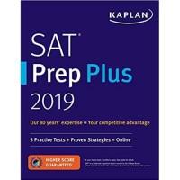 SALE - SAT Prep Plus 2019: 5 Practice Tests + Proven Strategies