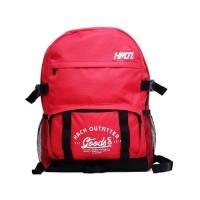 HRCN BLACK NETS Men Bag Tas Ransel Backpack Pria - H 6172