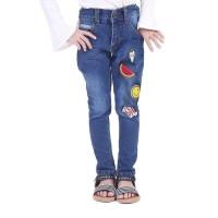 TDLR MIX GIRL Pants Celana Denim Anak Perempuan T 4187