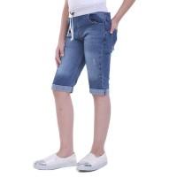 TDLR RIBS GREY GIRL Pants Celana Denim Anak Perempuan T 4024