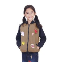 TDLR FULL PATCH GIRL Sweater Hoodies Jaket Anak Perempuan T 2573
