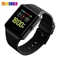 SKMEI Jam Tangan Heartrate Smartwatch Bluetooth - 1526 - Hitam