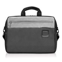 """Everki EKB460 ContemPRO Tas Selempang Laptop Briefcase 15.6"""" - Hitam"""