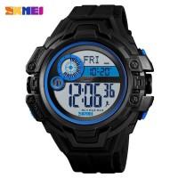 SKMEI Jam Tangan Digital Pria Pedometer Compass - 1447 - Biru