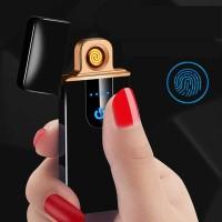 Korek Api Elektrik Fingerprint Sensor Taffware e-SPARK LED - MG-517