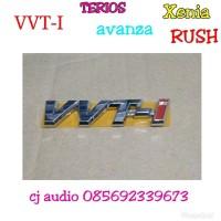 LOGO emblem tulisan VVT-i vvt i avanza xenia rush Terios baru