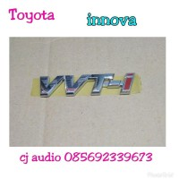 Logo emblem tulisan VVT-i vvt i Toyota kijang Innova baru