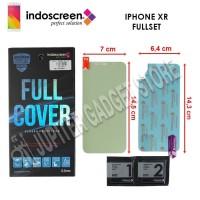 iPhone XR Indoscreen Anti Gores Full Cover Full Set - ORI