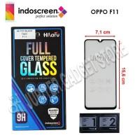 Oppo F11 Hikaru Tempered Glass Full Cover - ORI
