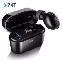 Earphone Bluetooth ZNT N3 BT 5.0 Wireless Earbuds w Charging Case ORI
