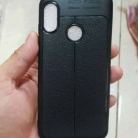 Softcase TPU Black Matte Slim Soft Case Cover Casing Oppo Realme 3 Pro