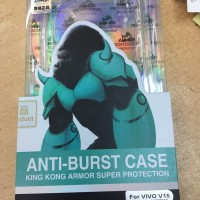 Softcase Clear Kingkong Anti Burst Soft Case Cover Casing Vivo V15
