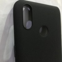 Softcase Slim Matte Original Soft Case Cover Casing Oppo Realme 3 Pro