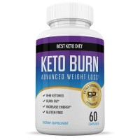 Suplement Pil Obat Diet Keto Fat Burner + Weight Loss 60 Caps USA