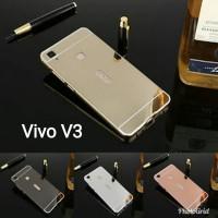 Case bumper slide mirror Vivo V3 aluminium hardcase hard case