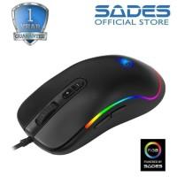Sades Revolver RGB Gaming Mouse