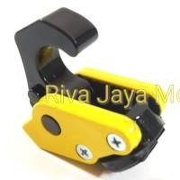 Gantungan Barang Lipat Robot Cnc Kuning Universal Nmax Vario Beat Mio