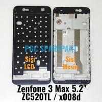 "Frame Bezzel Tulang Tengah Zenfone 3 Max 5.2 inch ZC520TL x008d 5.2"""