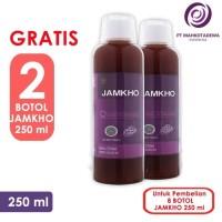 Paket Hemat 8 Jamkho 250ml GRATIS 2 botol obat herbal kolesterol