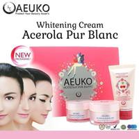 AEUKO - Acerola Pur Blanc / Paket Cream Wajah Original BPOM