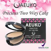 AEUKO - Two Way Cake / Bedak Padat Original BPOM
