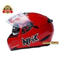 HELM NHK / HELM / NHK / HELM FULL FACE NHK RX 9 RED TERMURAH