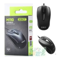 Robot M110 Office Wired Mouse Black