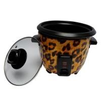 Leopard Lovers Rice Cooker 0.6 Liter - Full Cover Kuning