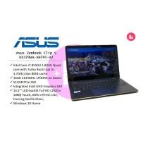 Laptop Kerja Asus Zenbook Flip S UX370UA-XH74T-X2 i7/16/512
