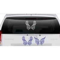 Stiker Kaligrafi Alhamdulillah Stiker Kaca Mobil D14